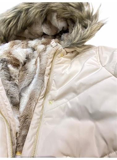 Midimod Midimod Mont Kaban Kürklü Kapşonlu Kız Çocuk Gri